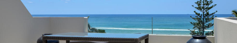 3 Bed Ocean Front Spa Roof Top