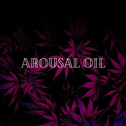 Hemp Infused Arousal Oil for Her