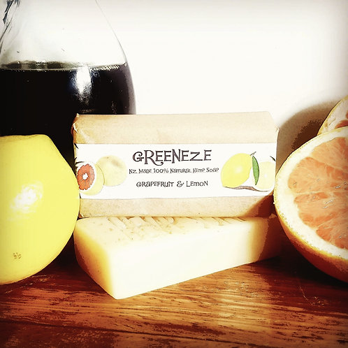 Grapefruit & Lemon Hemp Soap