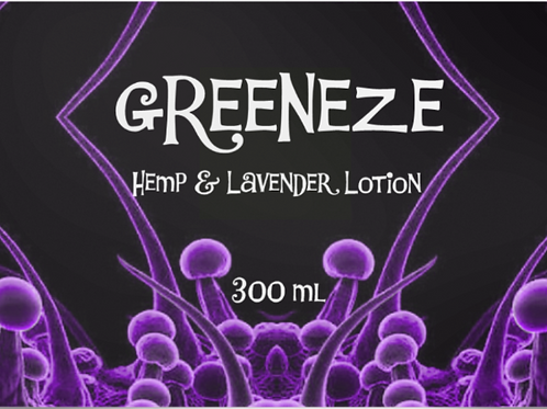 Hemp & Lavender Lotion 300ml