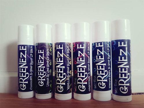 Greeneze Hemp Lip Balm - 6 PACK