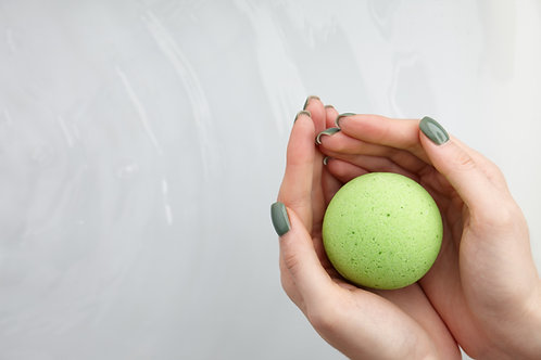Hemp Infused Bath Bomb 300g