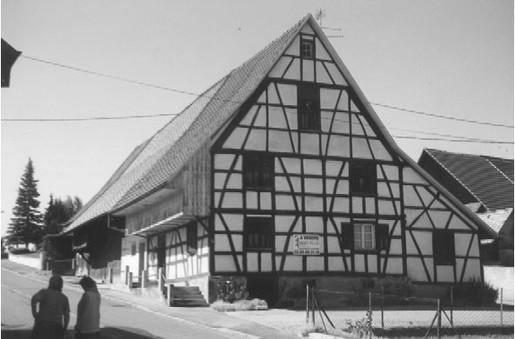 Maison à colombages avant travaux