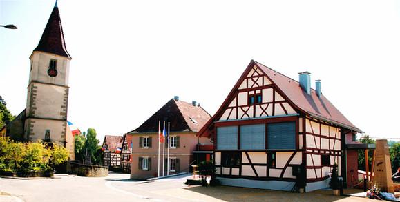 Centre village de Franken