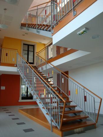 Hall intérieur Ecole