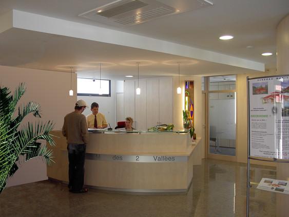 Agence bancaire à Franken