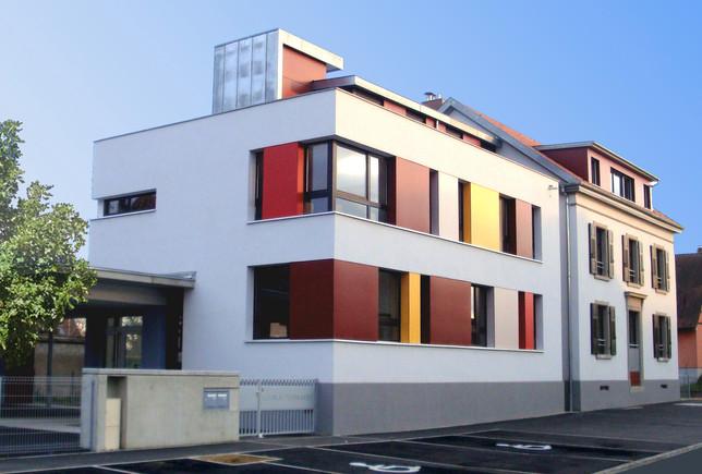 Entrée Ecole rue de Diensheim