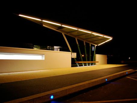 Abri-bus Nuit