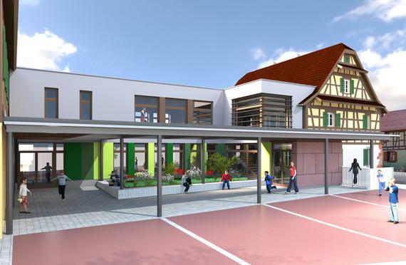 Mairie école de Grussenheim