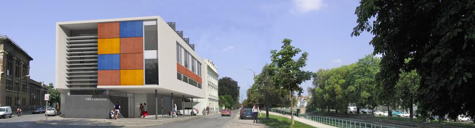 Centre médico-social Espace Solidarité Fonderie à Mulhouse
