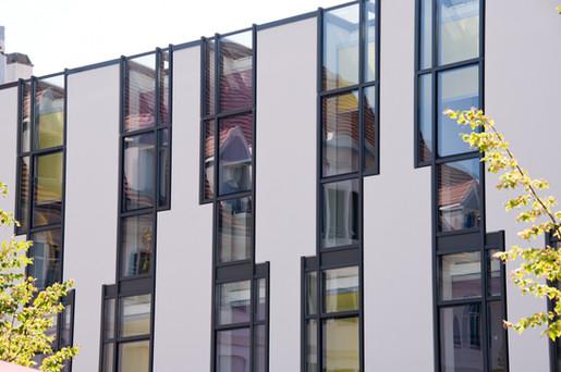 Détail modénature de façade