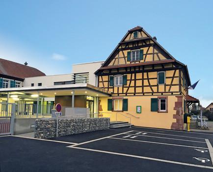 Parvis Mairie-Ecole