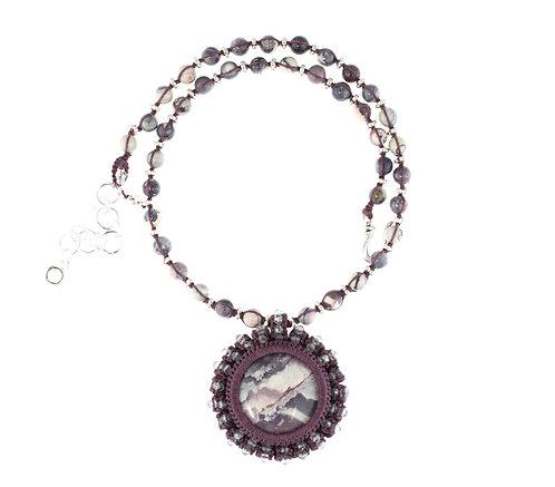 Porcelain jasper necklace