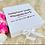 Thumbnail: White Personalised Baby Keepsake // Memory Box