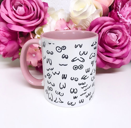 Boob Mug // Breast Cup // Boobs Print