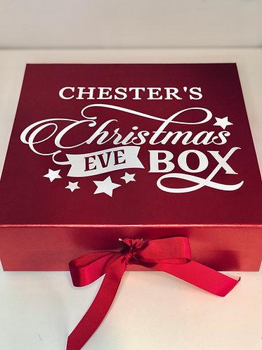 Large Luxury Personalised Christmas Eve Box