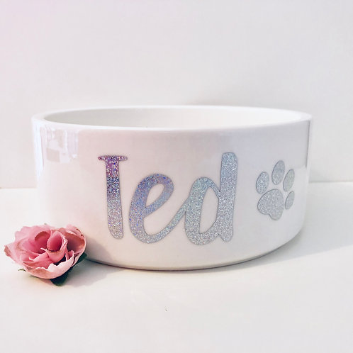 Personalised Pet Food/Water Bowl