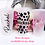 Thumbnail: Personalised Frosted Named Plastic Tumbler with Hearts