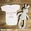 Thumbnail: Personalised Hello World Baby Grow