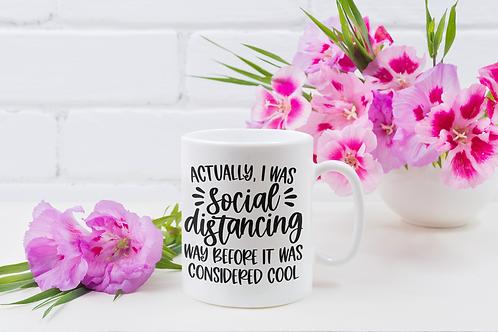 Funny Social Distancing Mug