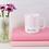 Thumbnail: Geo Pink Pattern Personalised Mug