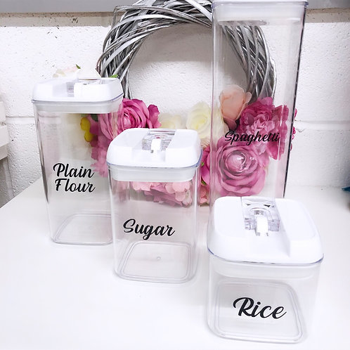 Personalised Airtight Food Container