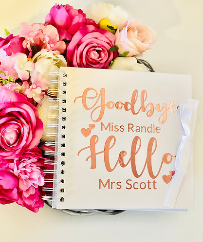 Personalised Wedding/Hen Do Guest Book