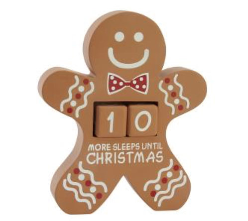 Gingerbread Countdown Calendar