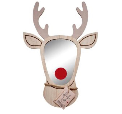 Stag mirror (with red nose)