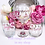 Thumbnail: Personalised Double Initials Stemless Wine Glass
