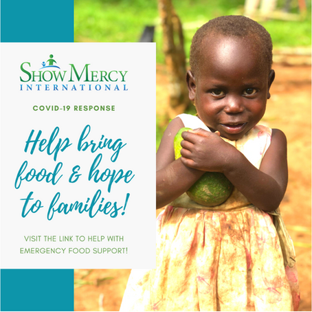 Together, we can help alleviate the possibility of starvation.