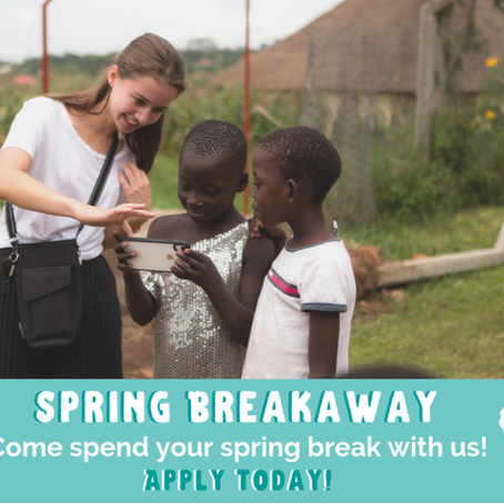 Have you made plans for your spring break yet?