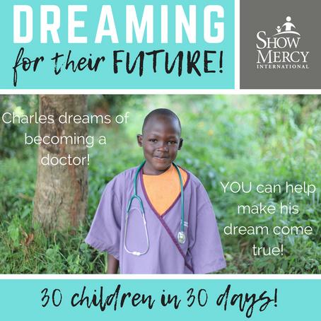 30 Children in 30 Days