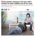 Ocean Cleanup mainstream coverage at last...