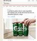 Well done Carlsberg. No more plastic rings on its beer.