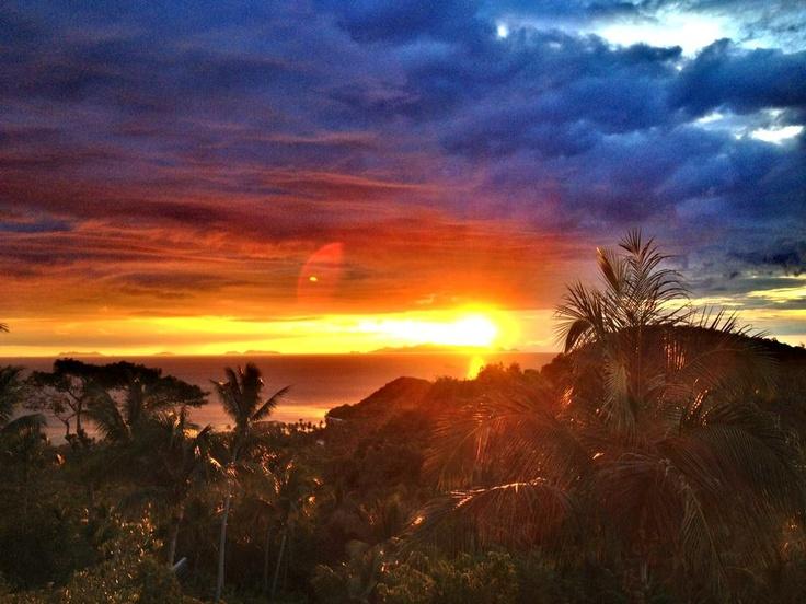 sunset Chaweng Noi hills Koh Samui