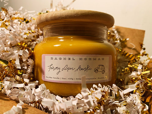 Fairway Drive Acoustic Candle