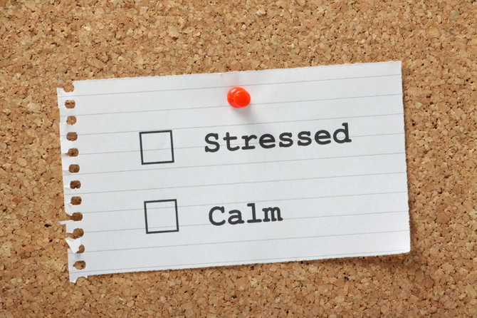 Use stress to get calm...!