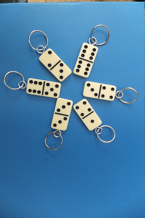 Domino keyrings
