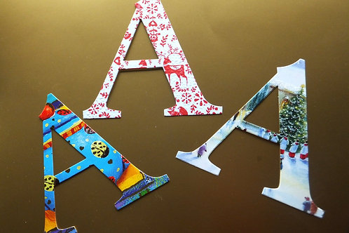 Stick-on letters (12)