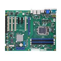 Axiomtek IMB525R ATX Motherboard with LGA1151 Socket 9th/8th Gen Intel® Core™, Xeon® E Processor, Intel® C246, USB 3.1 Gen2, SATA 3.0, PCI Express Mini Card Slot, VGA, DisplayPort++, DVI-D, and HDMI