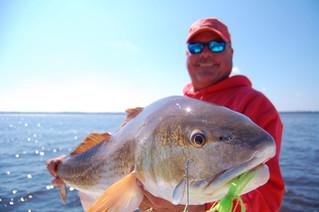 January fishing Winyah Bay, SC
