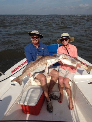Inshore Fishing Myrtle Beach to Georgetown, SC area