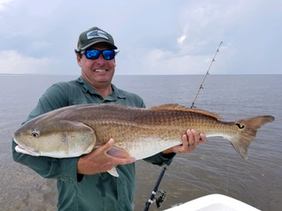 Bull Redfish Georgetown South Carolina Guide and Charter