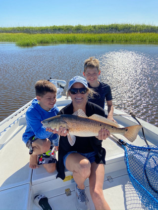2021 Spring Fishing Guides Report: Pawleys Island, Myrtle Beach and Georgetown South Carolina