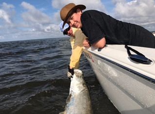 Tarpon Fishing Report South Carolina: Myrtle Beach, Garden City, Murrells Inlet, Litchfield Beach, P