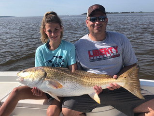 Bull Redfish Guide and Charter: Pawleys Island, Georgetown, Myrtle Beach, SC