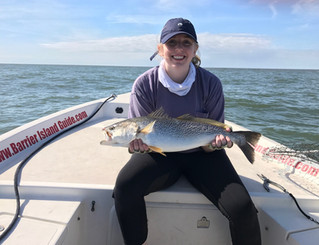 Catching Giant Sea Trout / Weakfish in Myrtle Beach, Pawleys Island and Georgetown South Carolina