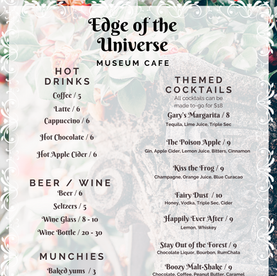 Happily Ever After Menu