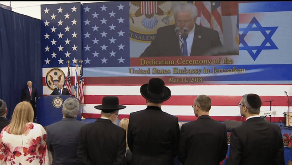 14.5.2018 Opening US Embassy